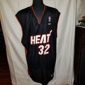 Reebok NBA Miami Heat O'neal Jersey Size XL